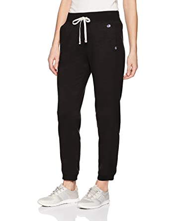 b380a3574be Amazon.com  Champion Women s Heritage French Terry 7 8 Jogger  Clothing