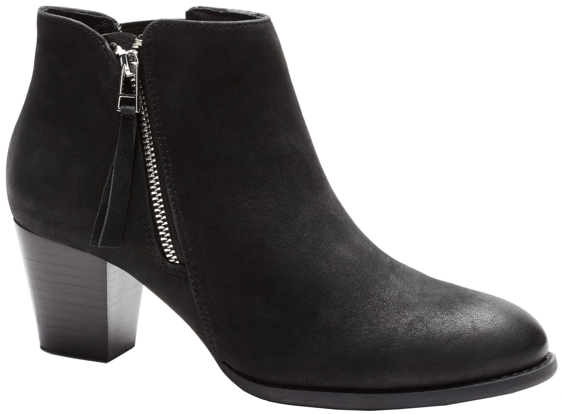 VIONIC Women's Upright Sterling Ankle Boot Black Boot, 11 B(M)