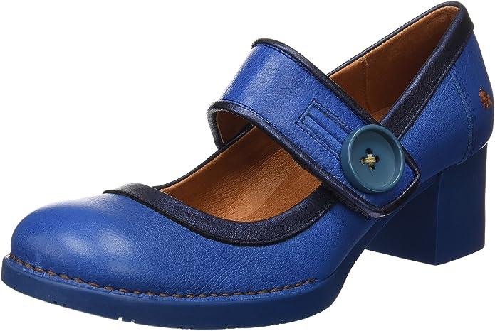 TALLA 39 EU. Art Bristol, Zapatos de tacón con punta cerrada para Mujer