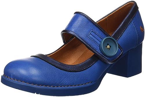 1113 Heritage I Laugh, Zapatos de Tacón con Punta Cerrada para Mujer, Rosa (Magenta), 41 EU Art