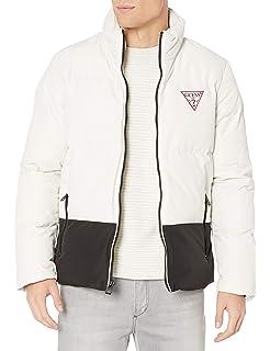 GUESS Mens Banded Bottom Jacket