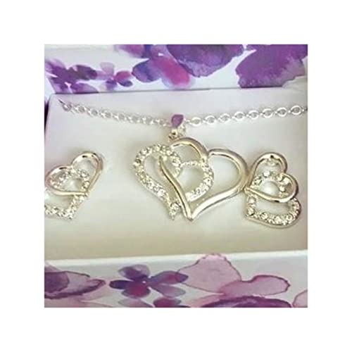 SET de regalo en caja en forma de corazón de NETTIE Collar ...