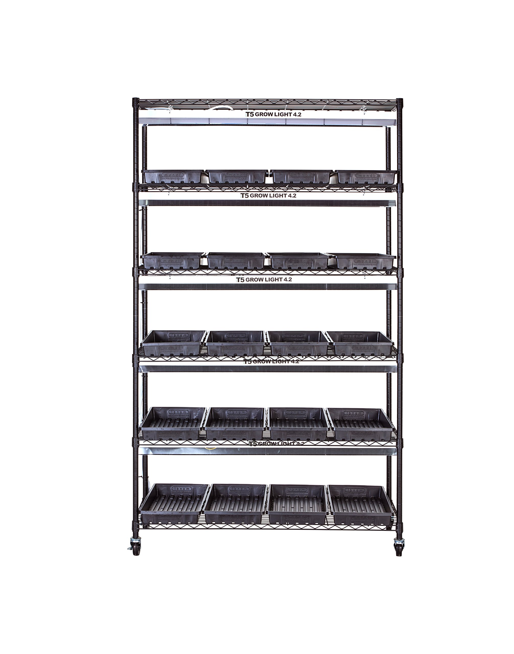 Diversified Woodcrafts MGC-4818 Plant Growing Stand, Black