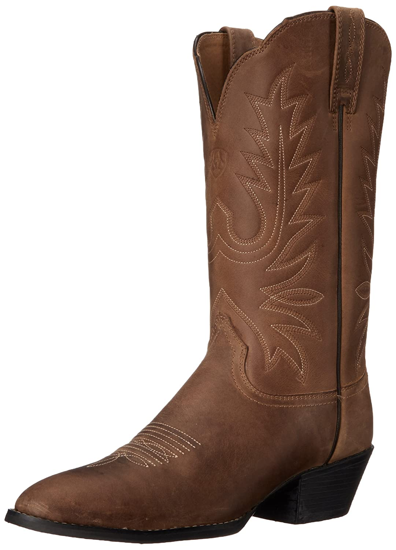 Ariat Women's Heritage Western R Toe Western Cowboy Boot B000GANQBO 5.5 C US|Distressed Brown