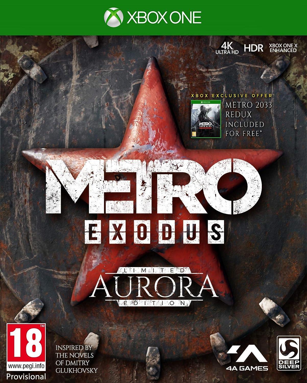 Metro Exodus Aurora Limited Edition (xbox_one) [Importación ...