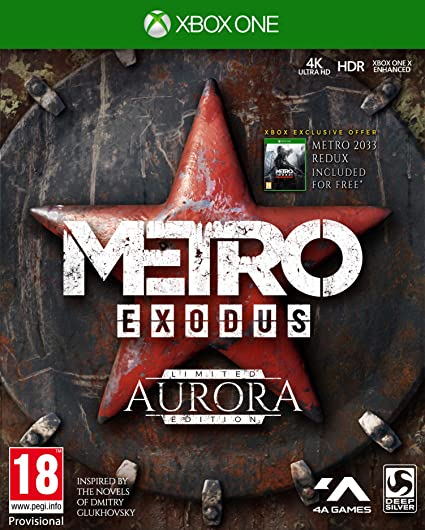 Metro Exodus Aurora Limited Edition + Spartan Survival Guide ...