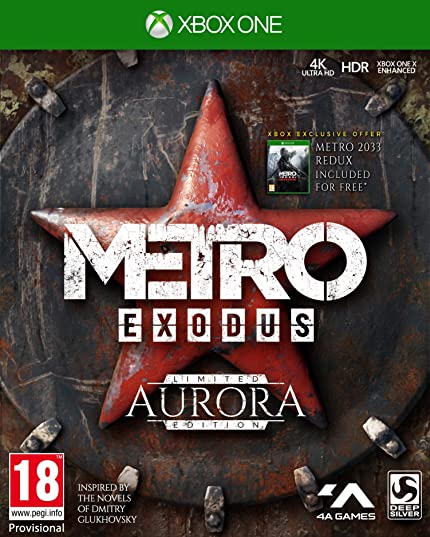 Metro Exodus Aurora Limited Edition (xbox_one): Amazon co uk