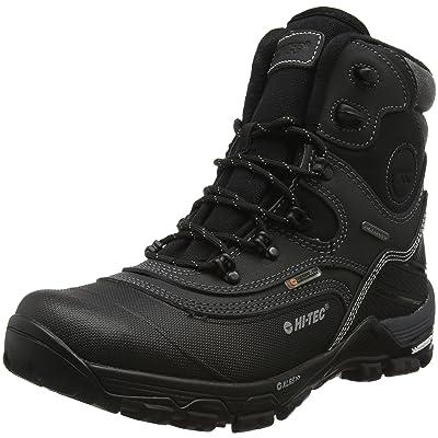 Hi-Tec Trail Ox Winter 200 I Waterproof, Chaussures de Randonnée Hautes Homme, Noir/Charbon, 47 EU