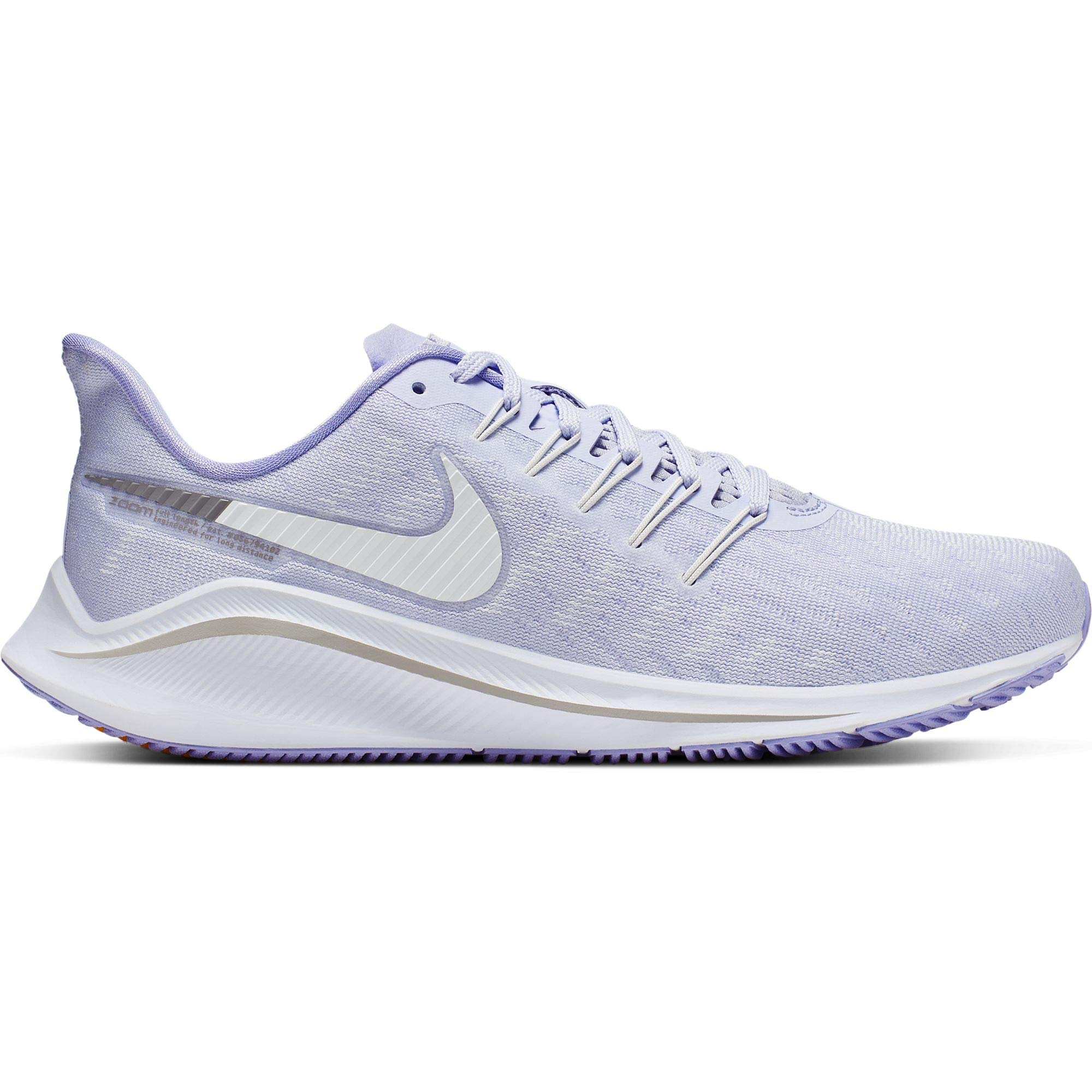 Nike Air Zoom Vomero 14 Women's Running Shoe Amethyst Tint/White-Purple Agate 9.5 by Nike