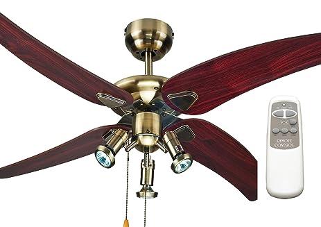 Ocean Lamp OL48047 Modern Decorative Ceiling Fan W/Lightu0026Remote Control