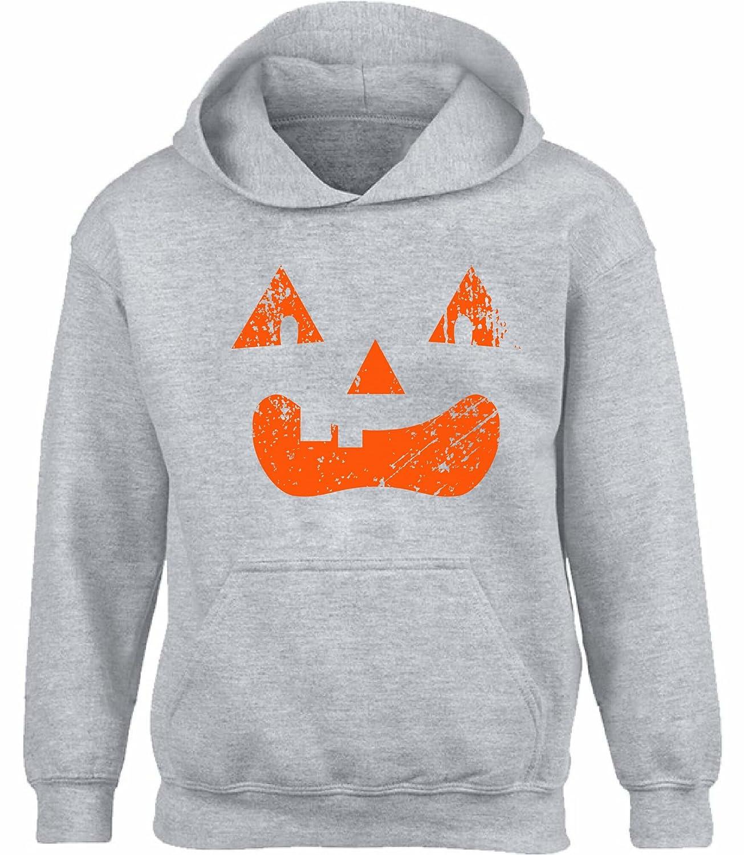 Vizor Unisex Halloween Pumpkin Hoodie Sweatshirt Halloween Pumpkin