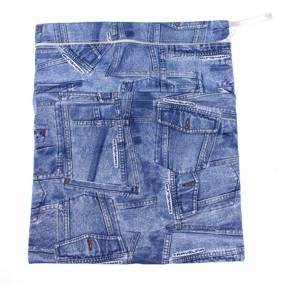 Baby Infant Waterproof Zipper Reusable Cloth Diaper Bag (.cowboys colors) BabyCentre SHOMPFL1379