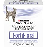 Purina Pro Plan Veterinary Supplements FortiFlora With Probiotics Feline Nutritional Cat Supplement
