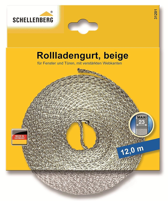 Schellenberg 36004 Rollladengurt 23 mm/6.0m, braun