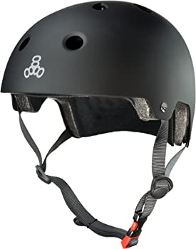Triple Eight Dual Certified Skateboard Helmet