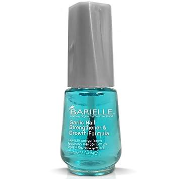 Amazon.com : Barielle Garlic Nail Strengthener & Growth Formula Dual ...