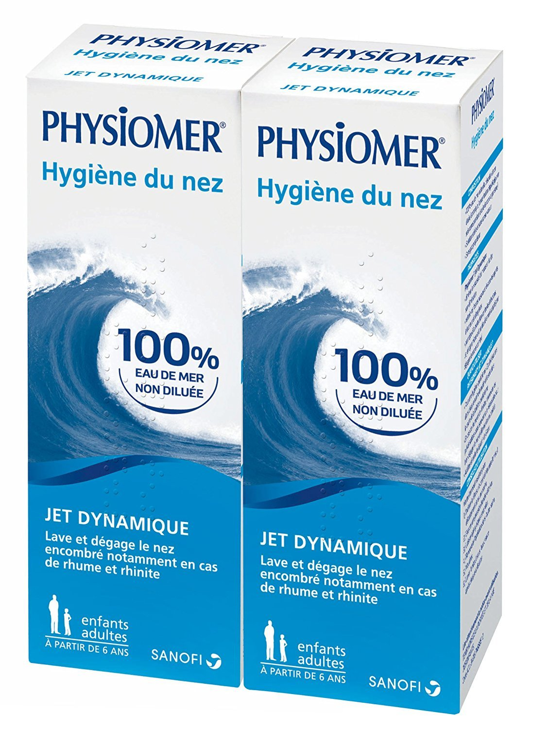 Physiomer Nasal Hygiene Dynamic Jet 2 x 135ml by Physiomer 539