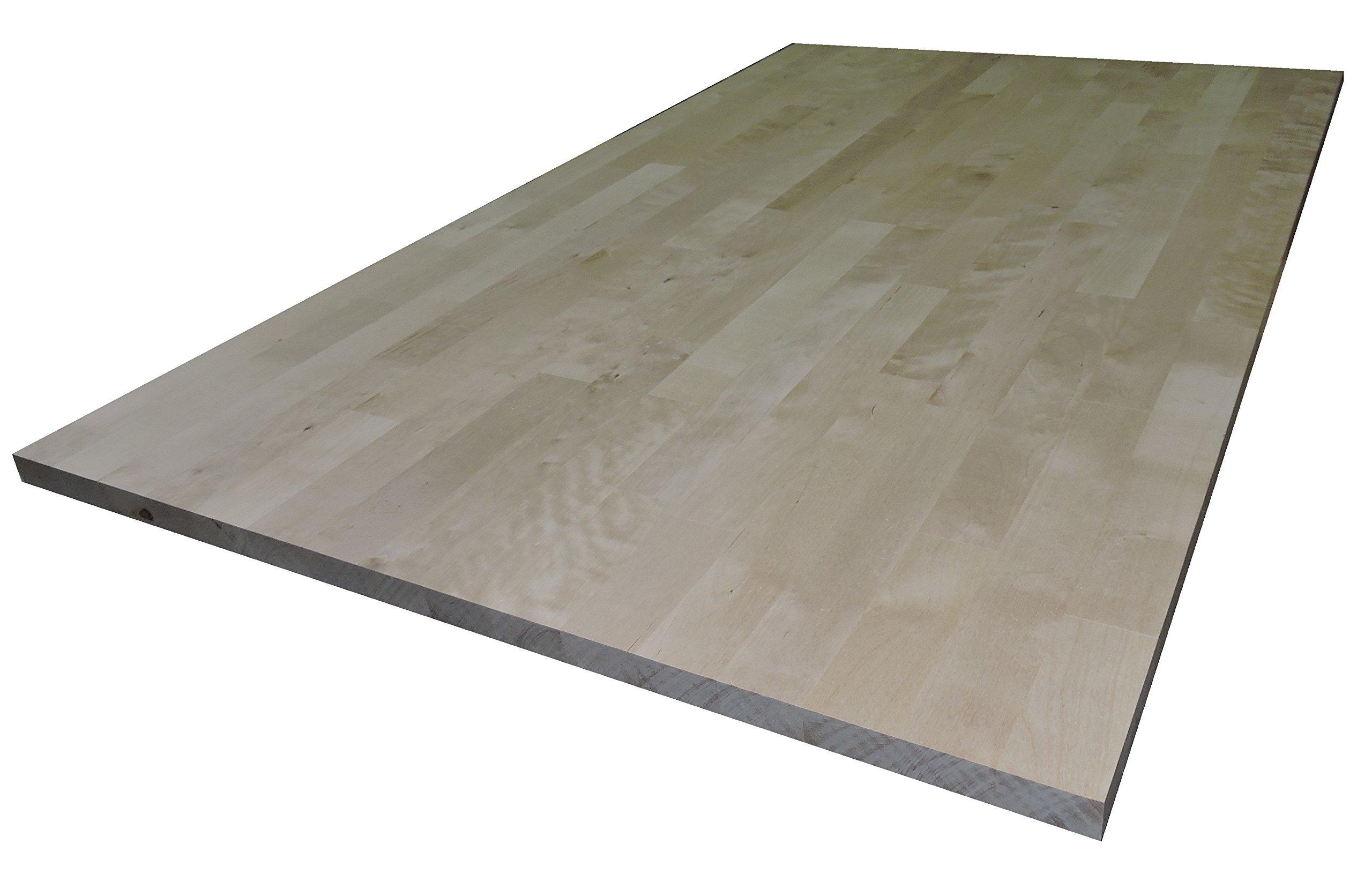 Allwood 1'' x 16'' x 29'' Birch Table/Counter/Island Top See All Edge Options (Sharp Edges) by Allwood