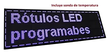 Cartel LED PROGRAMABLE (160x48 cm + Sonda Temperatura