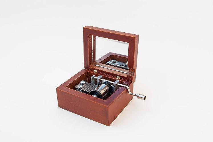 Caja musical grabada con la inscripción del Anillo Único - El señor de los anillos: Amazon.es: Handmade