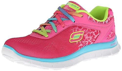 Skechers Skech AppealSerengeti - Zapatillas para niñas, color npmt, talla 27