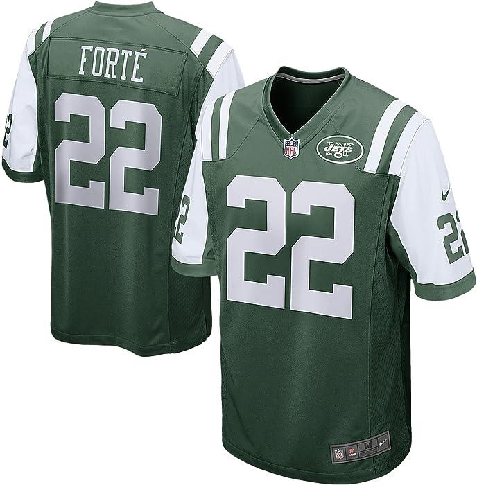 6e852b91e0d Nike Youth's New York Jets Matt Forte #22 On Field Football Jersey Pine  Green/