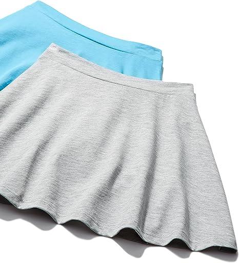 Marca Amazon - RED WAGON Falda de Vuelo para Niñas, Pack de 2 ...