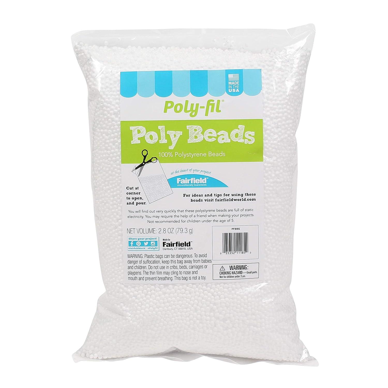 Fairfield Poly-Fil Poly Beads 2.8 Ounce Bag