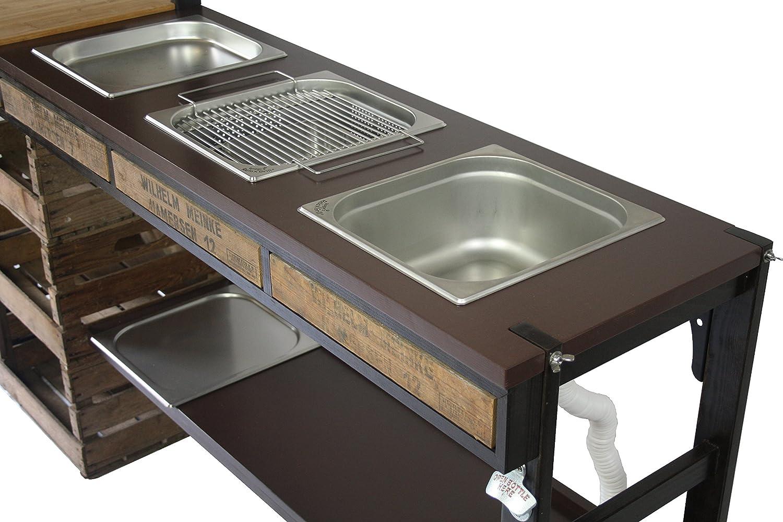 Outdoorküche Mit Spüle Reinigen : Outdoorküche außenküche gartenküche sommerküche partyküche mit