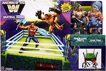 WWE Masters of the WWE Universe Grayskull Mania Bundle