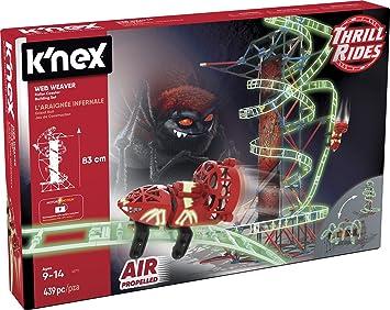Knex- Knex Thrill Rides Montaña Rusa Web Weaver 399 Piezas 2 ...