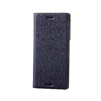 b6d20948f7 エレコム Xperia XZ ケース SO-01J SOV34 ソフトレザーカバー 薄型 磁石付 イタリアンエコレザー