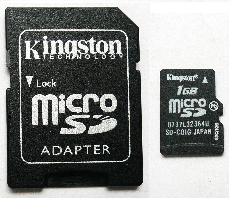 1GB KINGSTON MICRO SD CARD BULK PACK WITH ADAPTOR