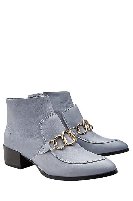 next Mujer Botines Tipo Mocasines Detalle Cadena Zapatillas Calzado: Amazon.es: Zapatos y complementos