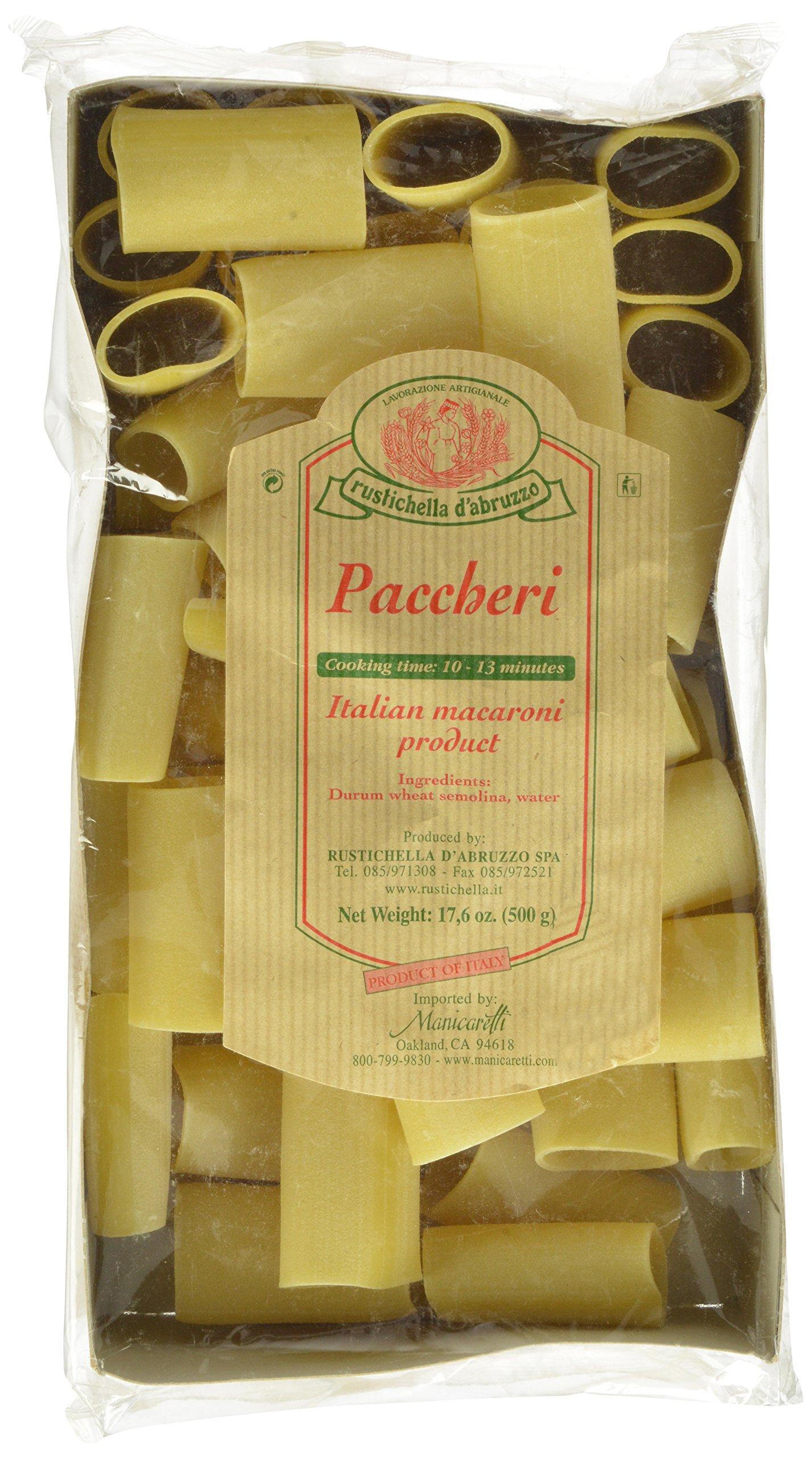 Rustichella Paccheri Pasta, 17.6 Ounce