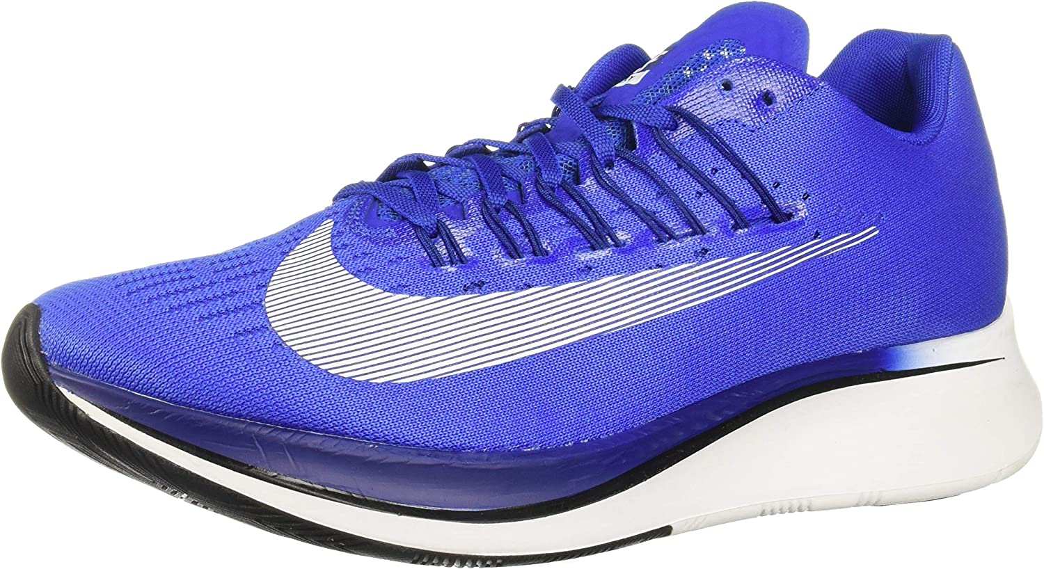 Nike Men s Zoom Fly Running Shoe Hyper Royal White-DEEP Royal Blue-Black 11.0