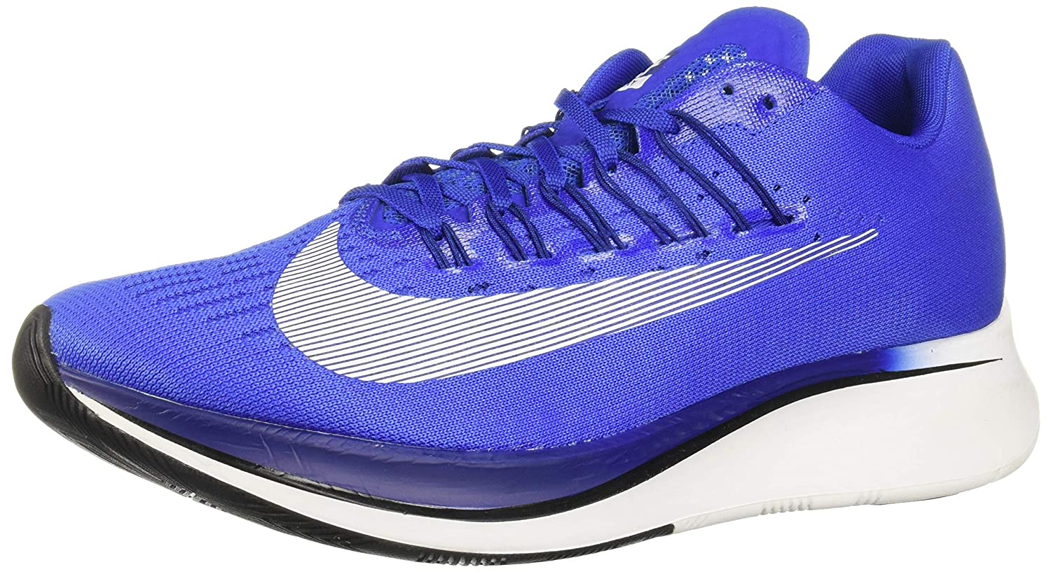 Hyper Royal White Deep Royal bluee Black Nike Mens Zoom Fly SP Lightweight Trainer Running shoes