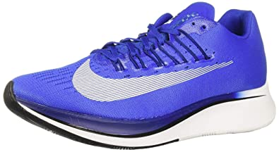 97736bc06a93 NIKE Men's Zoom Fly Running Shoe Hyper Royal/White-Deep Royal Blue-Black