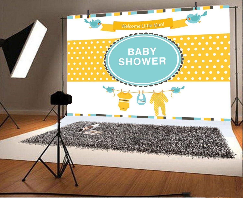 Amazon.com: yeele 5 x 3ft lindo Baby Shower telón de fondo ...