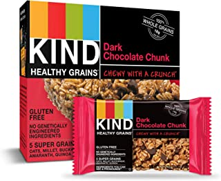 product image for Kind Healthy Grains Bars, Dark Chocolate Chunk, 1.2 Ounce, 5 Count
