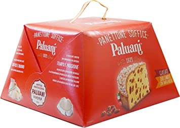 Paluani Panettone Soffice Soft Panettone Iced With No Candied