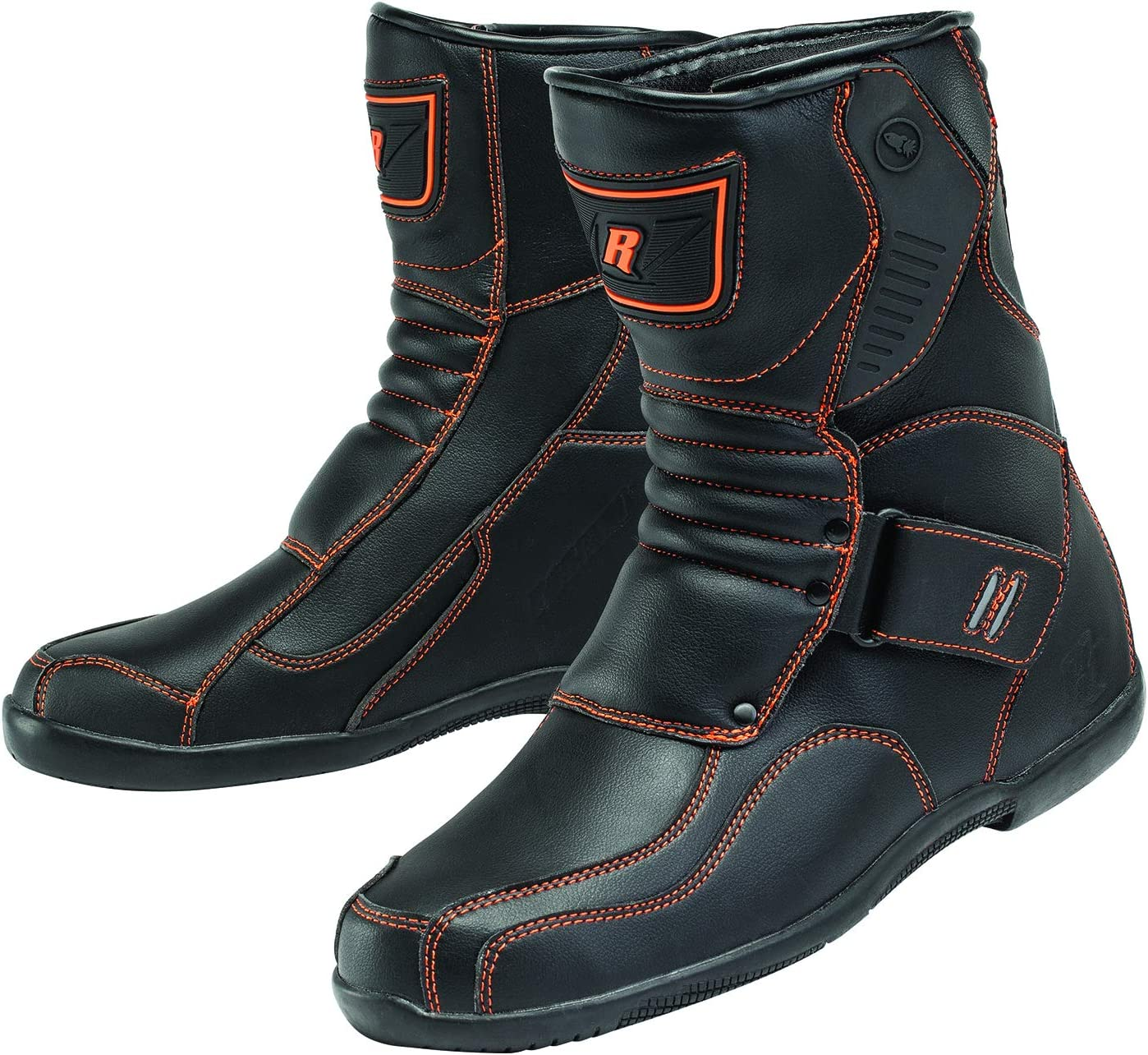 Black//Orange Size 11 Joe Rocket Atomic Motorcycle Boots