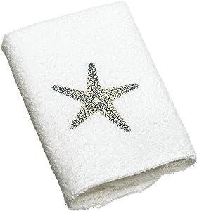 Avanti Linens By The Sea Wash Cloth, White