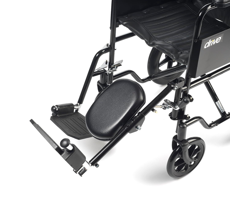 Drive Medical ELR001L - Soporte para pie (para silla de ruedas, acero, para pierna izquierda): Amazon.es: Salud y cuidado personal