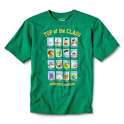 Toy Story Boys Short Sleeve Shirt Tee Green