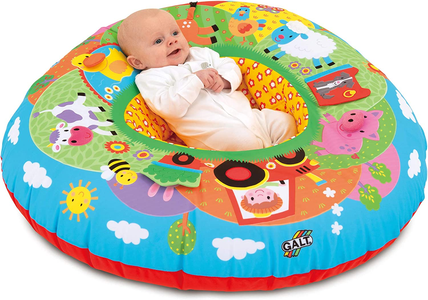 Sit-Me-Up Cushion Baby Support Ring Comfy Safe Soft Secure Unusual Gift