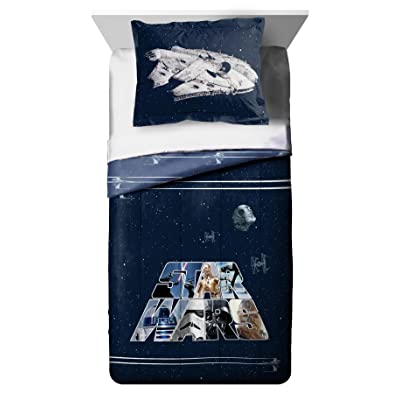 Franco Manufacturing Star Wars Classic Full/Twin Bedding Comforter with Sham #753934050: Home & Kitchen