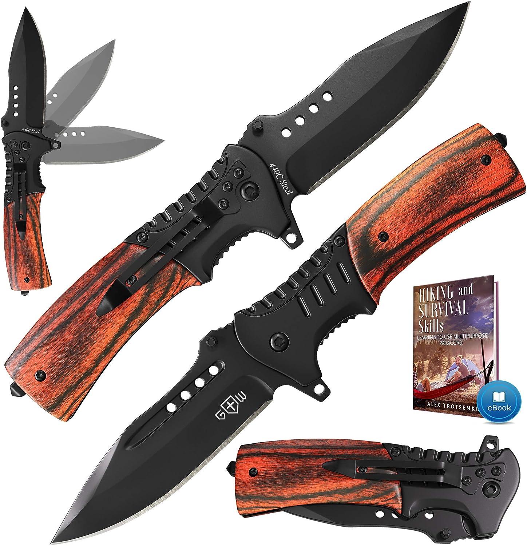 Grand Way Spring-Assisted Pocket Knife