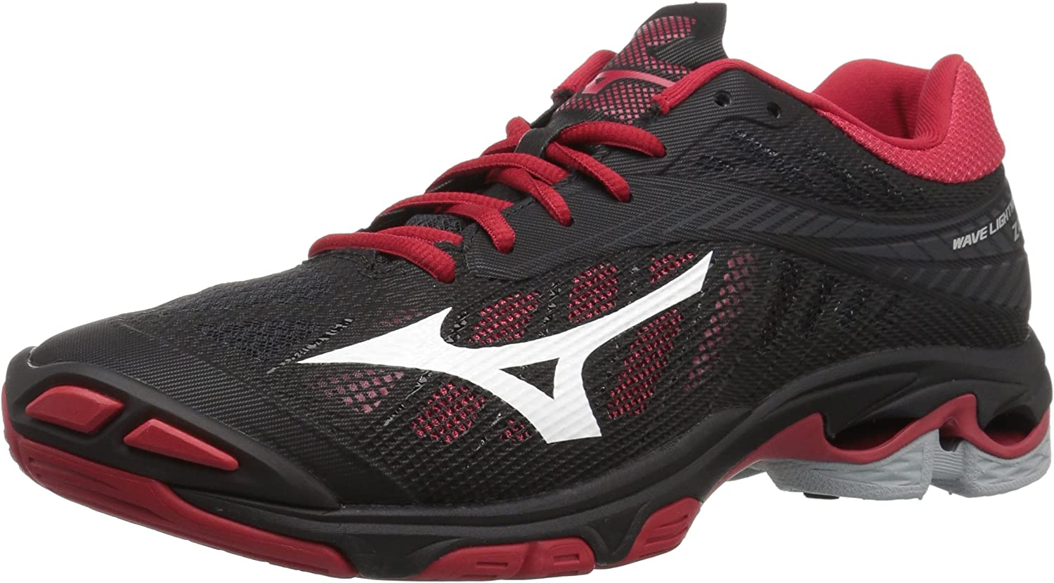 Mizuno Wave Lightning Z4 Womens Black-RED 9.5 Black/Red
