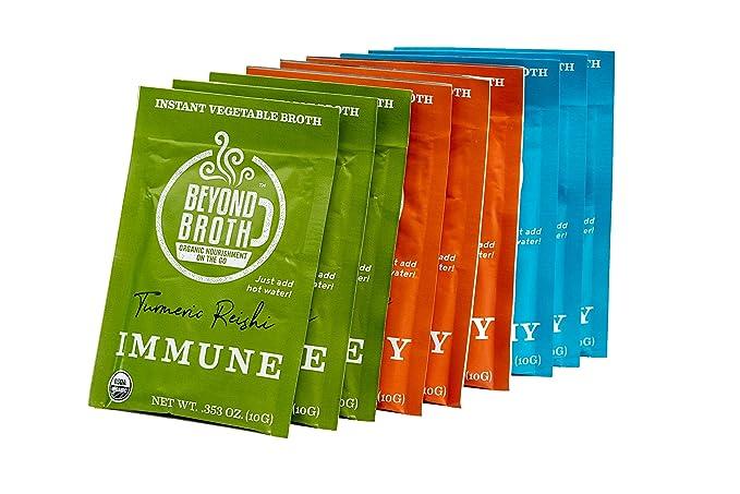 BEYOND BROTH Organic Vegan Vegetable Instant Sipping Broth